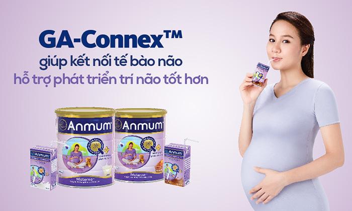 Sữa bầu Anmum giúp phát triển trí não