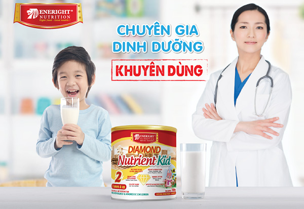 Sữa Diamond Nutrient Kid của Viện Dinh Dưỡng