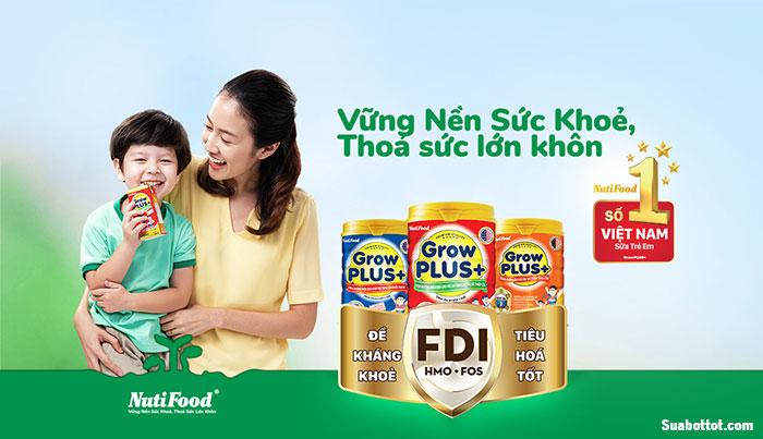 Sữa Grow Plus FDI