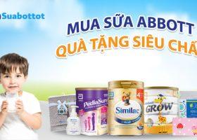 Sữa Abbott khuyến mãi