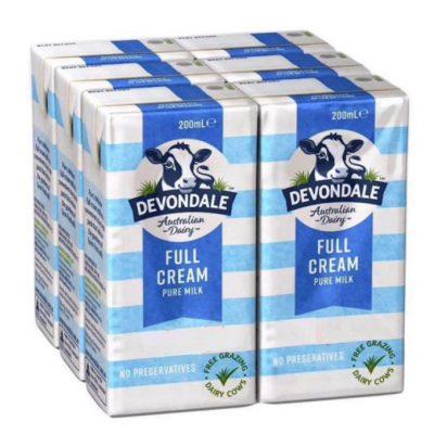 Sữa devondale 200ml