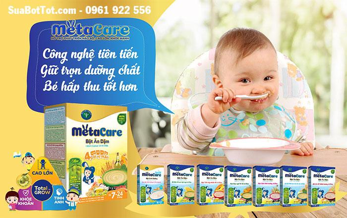Bột ăn dặm Metacare