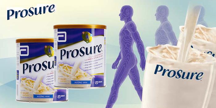 Sữa cho bệnh nhân ung thư prosure