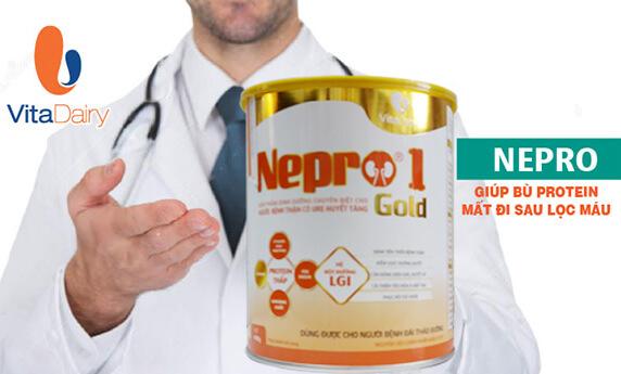 Sữa Nepro và Nepro Gold cho người bệnh thận