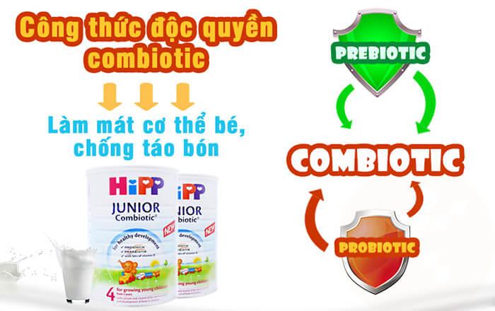 Sữa Organic Combiotic