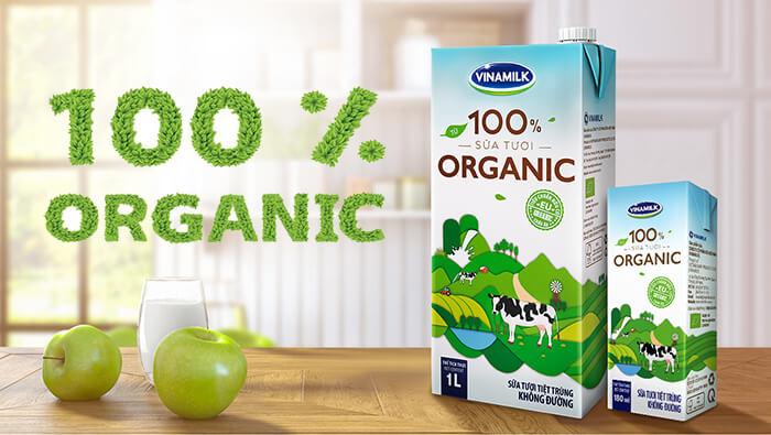 Sữa Organic là gì