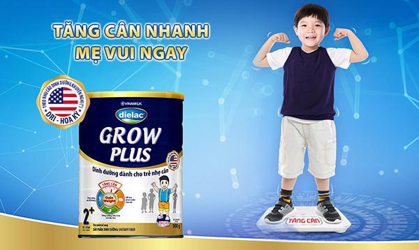 Sữa Dielac Grow Plus cho trẻ nhẹ cân