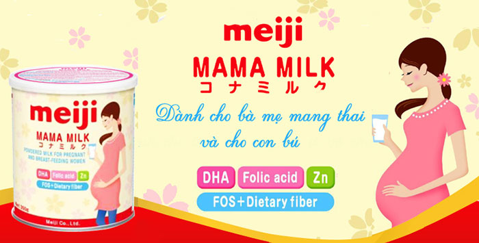 Sữa bầu Meijimilk