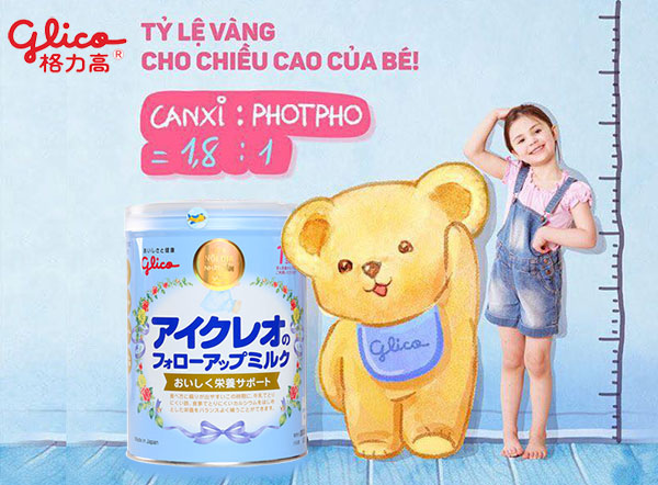 Sữa Glico số 1 nội địa Nhật