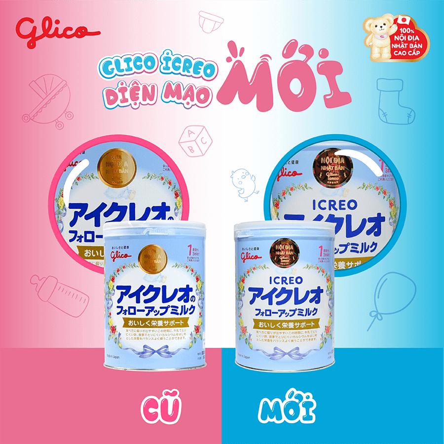 Sữa Glico số 1 mới