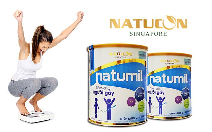Sữa Natumil tăng cân cho người gầy