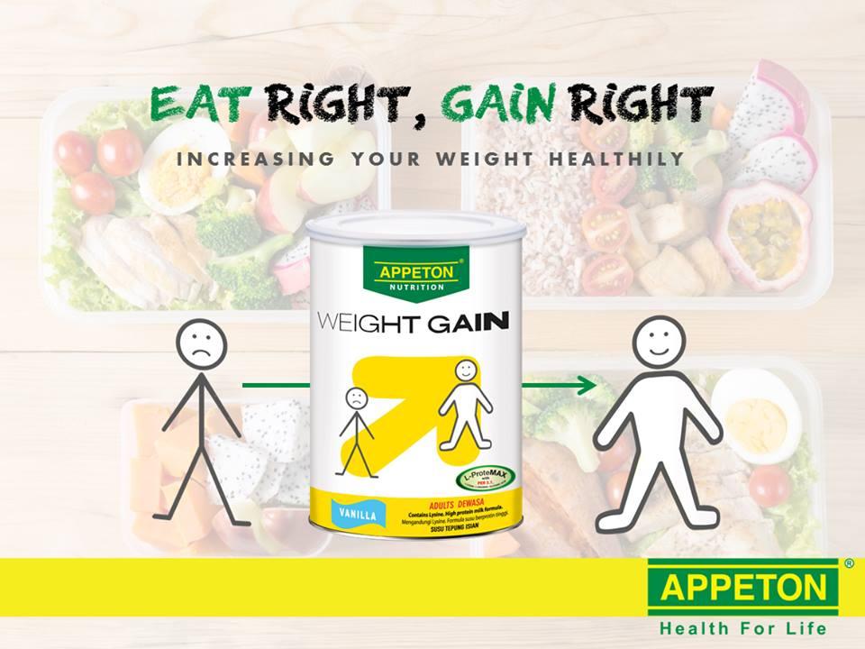 Sữa tăng cân cho người gầy Appeton Weight Gain