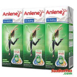 Sữa nước Anlene 180ml có đường