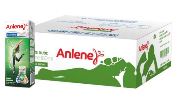 Sữa nước Anlene pha sẵn
