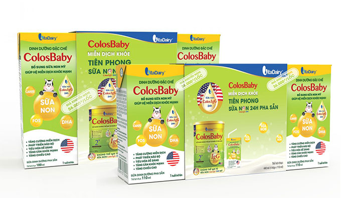 Sữa bột pha sẵn Colosbaby