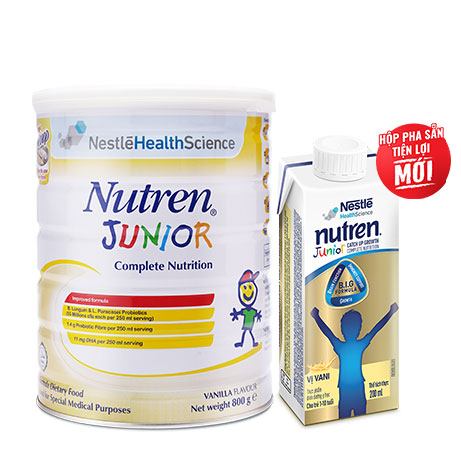 Sữa Nutren Junior pha sẵn