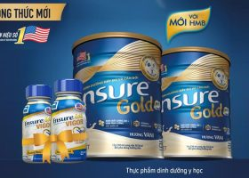 Sữa Ensure Gold mới