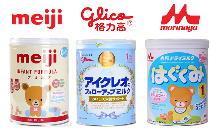 Các sản phẩm sữa Meiji