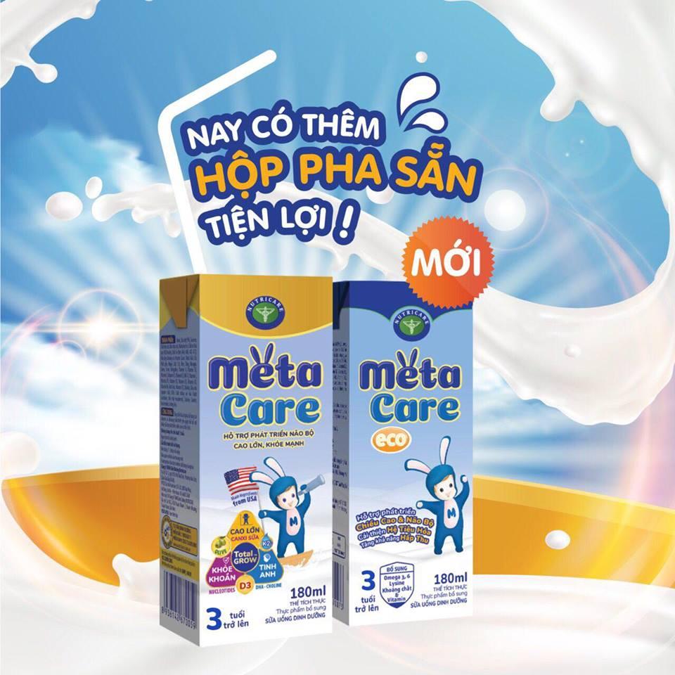 Sữa Metacare Pha sẵn