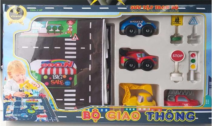 Bộ đồ chơi giao thông Morinaga