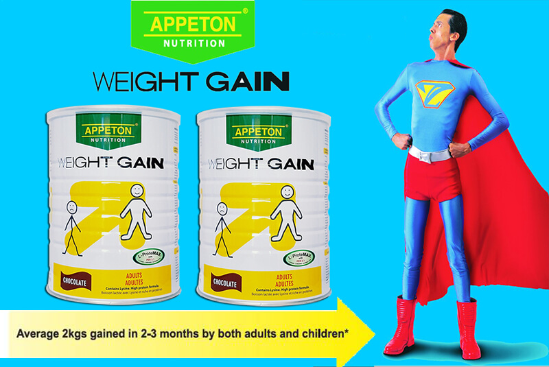 Sữa Appeton Weight Gain