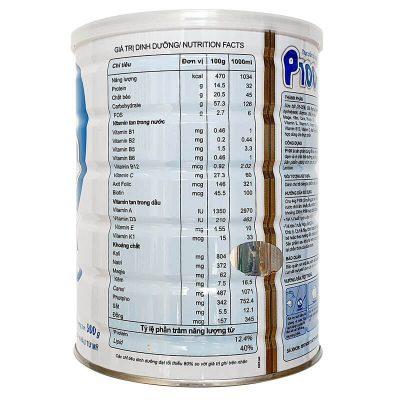 Sữa P100 viện dinh dưỡng
