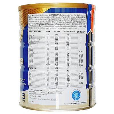 Sữa Ensure Gold HMB