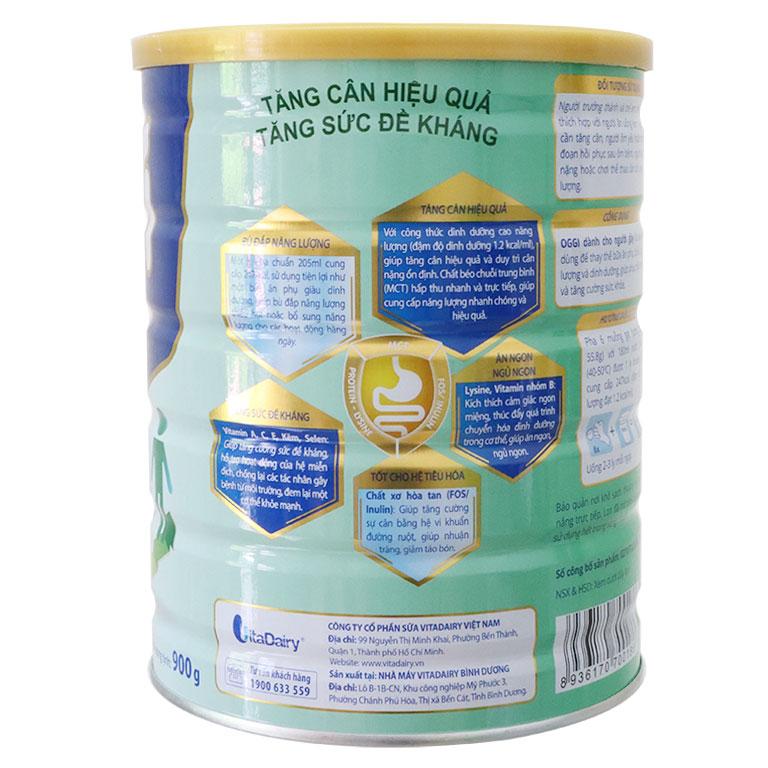 Sữa Oggi Tăng Cân Cho Người Gầy