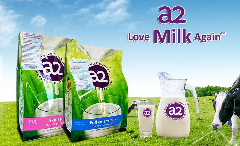 Sữa A2 chính hãng