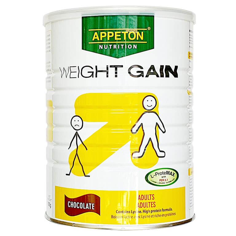 Sữa Appeton Weight Gain Adults SôCôLa 900g (SỮA TĂNG CÂN)