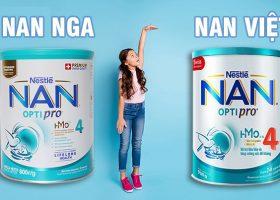So sánh Nan Nga và Nan Việt
