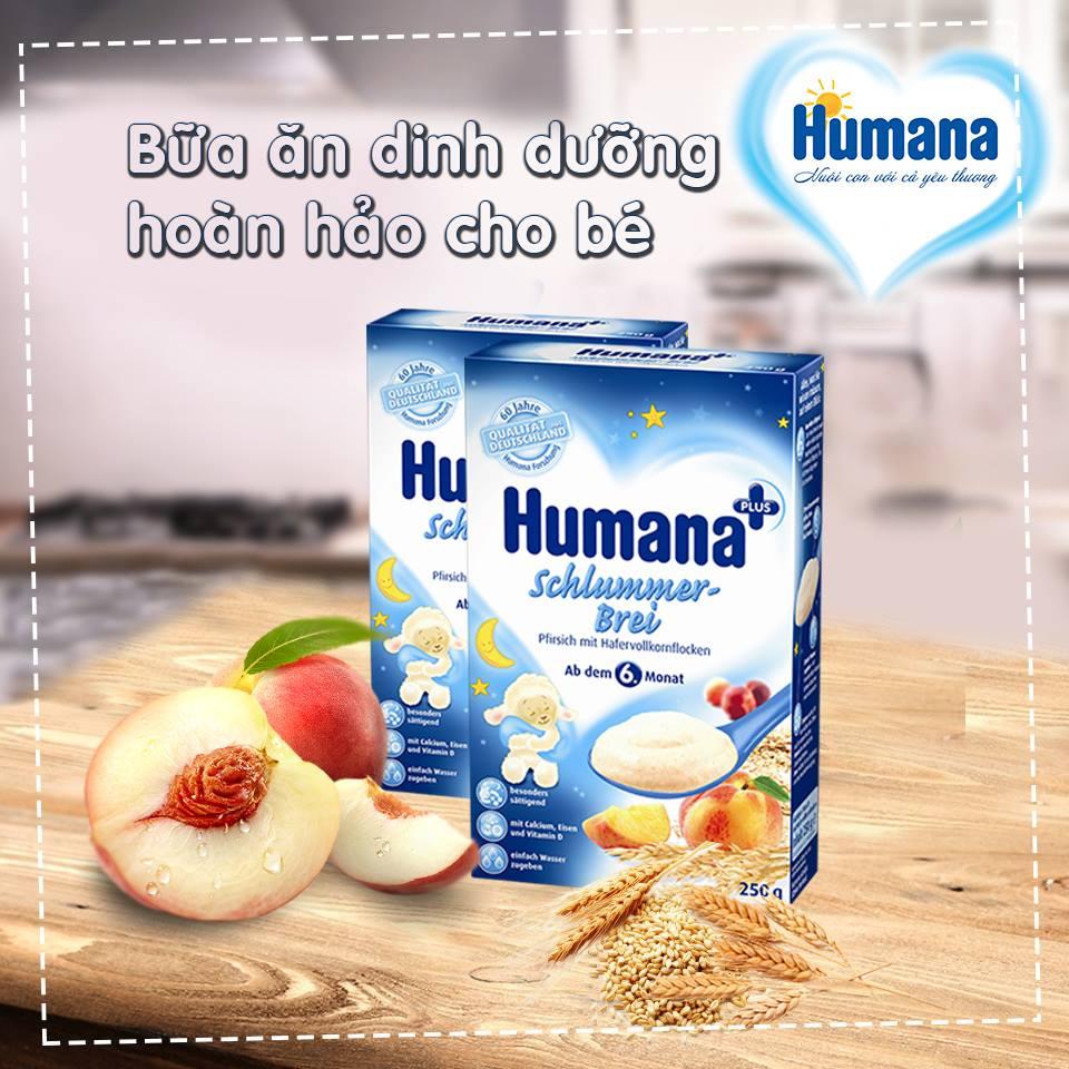 Bột ăn dặm Humana