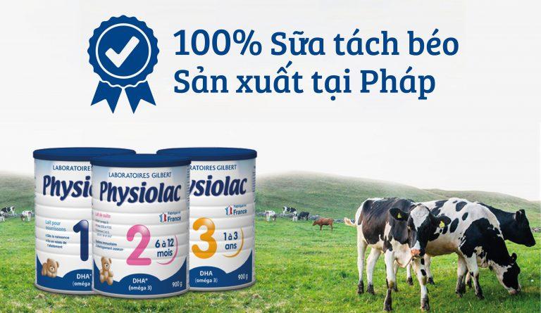 Physiolac công thức mới
