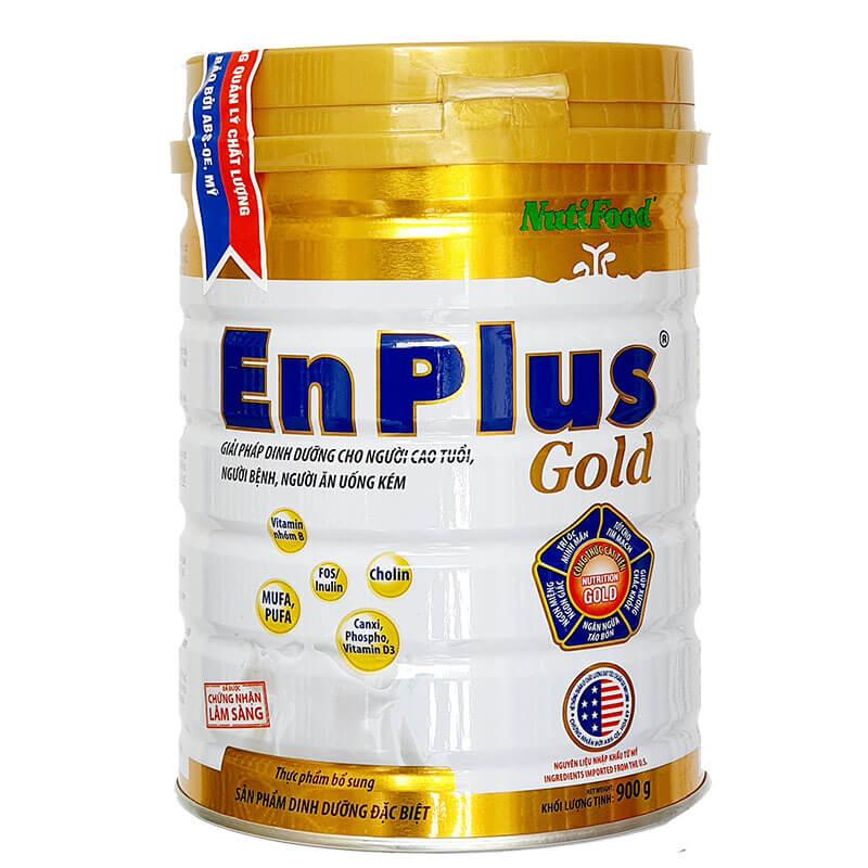Sữa Enplus Gold 900g của Nutifood Dành Cho Người Cao Tuổi, Người ốm
