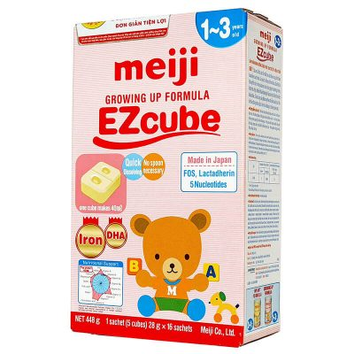 Sữa Meiji thanh 1-3
