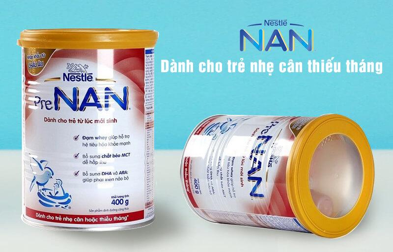 Sữa NAN cho trẻ sinh non