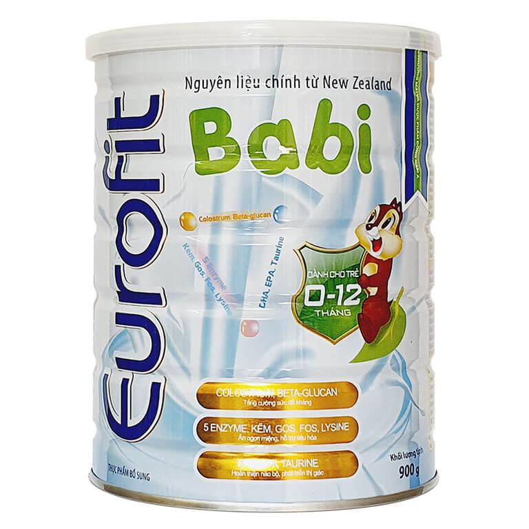 Sữa Eurofit Babi