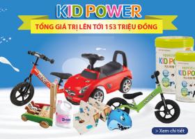 Sữa Kid Power Khuyến Maix