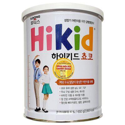Sữa Hikid Socola