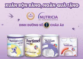 Sữa Nutrinidrink khuyến mãi