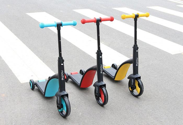 Siêu xe Scooter Nadle 3 in 1