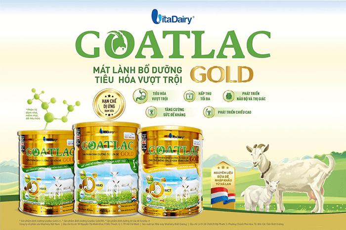 Sữa Dê Goatlac Gold