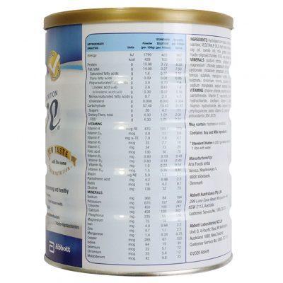 Sữa Ensure Úc