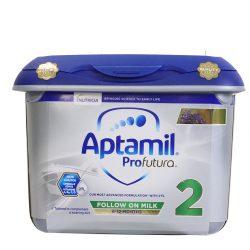 Sữa Aptamil Anh 2 Bạc Lùn