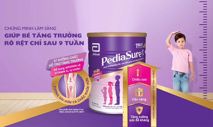 Sữa Pediasure tăng cân