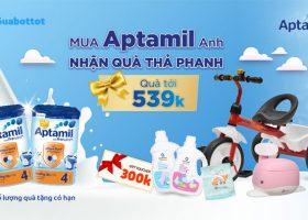 Sữa Aptamil khuyến mãi