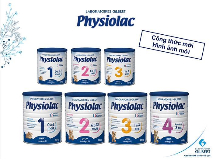 Sữa Physiolac mới