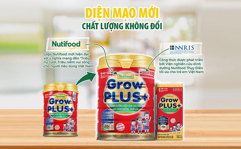 Grow Plus mẫu mới