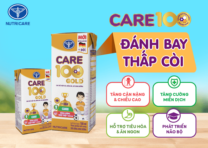 Sữa bột pha sẵn Care 100