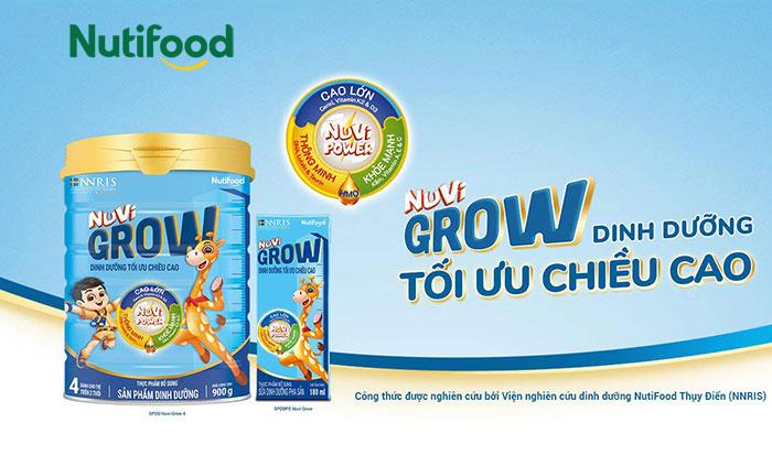 Sữa Nuvi Grow Nutifood